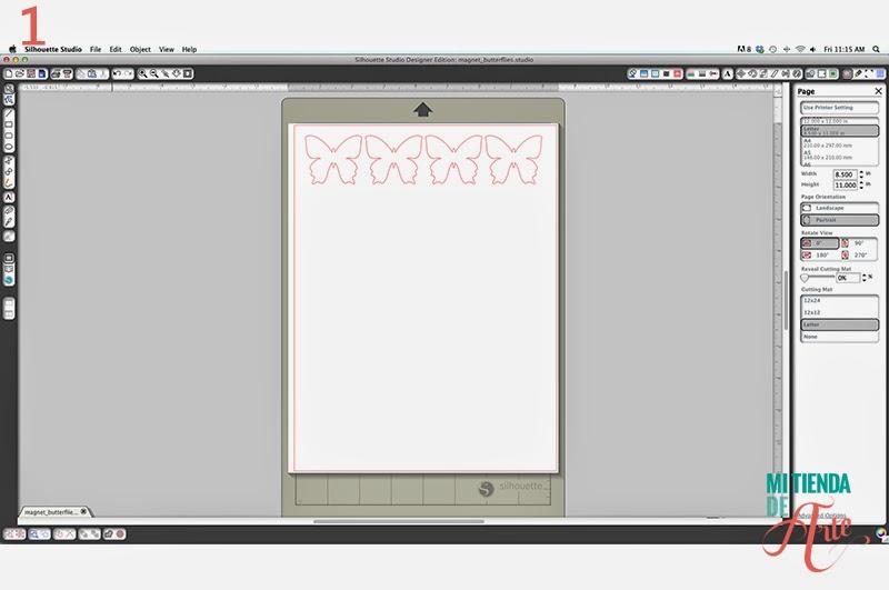 Diseño en Silhouette Studio