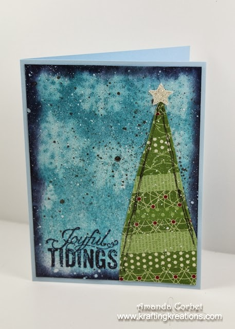 Mixed Media Christmas Cards