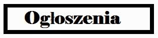 Inowrocławska - ogłoszenia