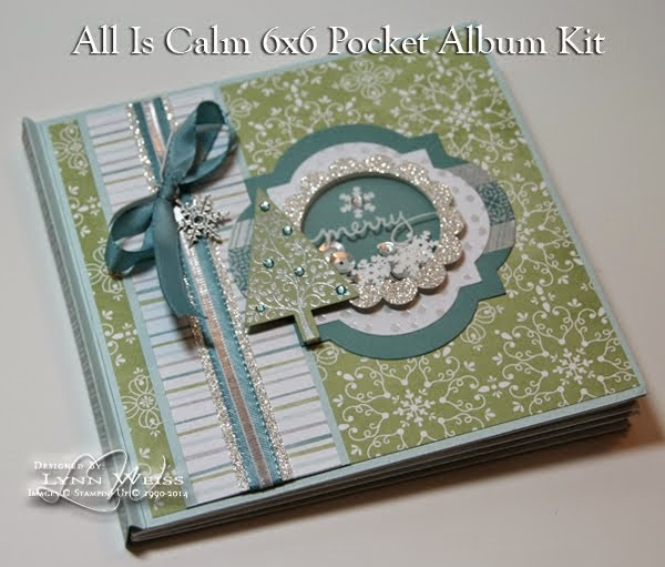 All Is Calm 6x6 Pocket Album Tutorial
