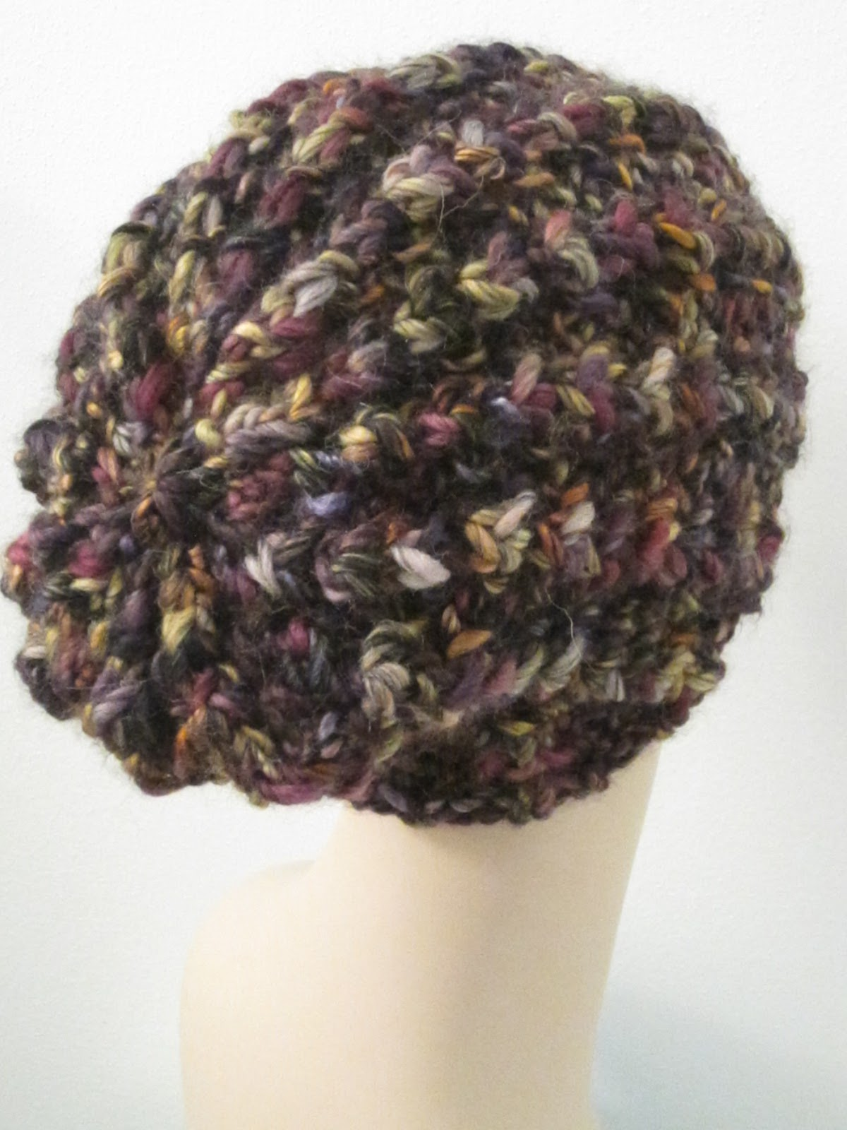 Balls to the Walls Knits: Chunky Triangle Rib Hat