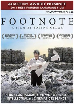 capa Baixar Filme Footnote   Dublado