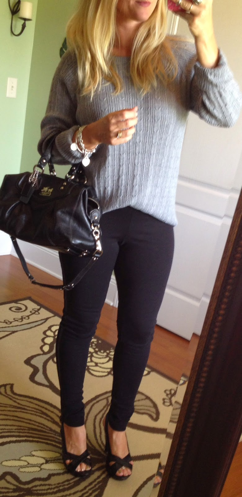 How to Wear Leather Leggings for Fall