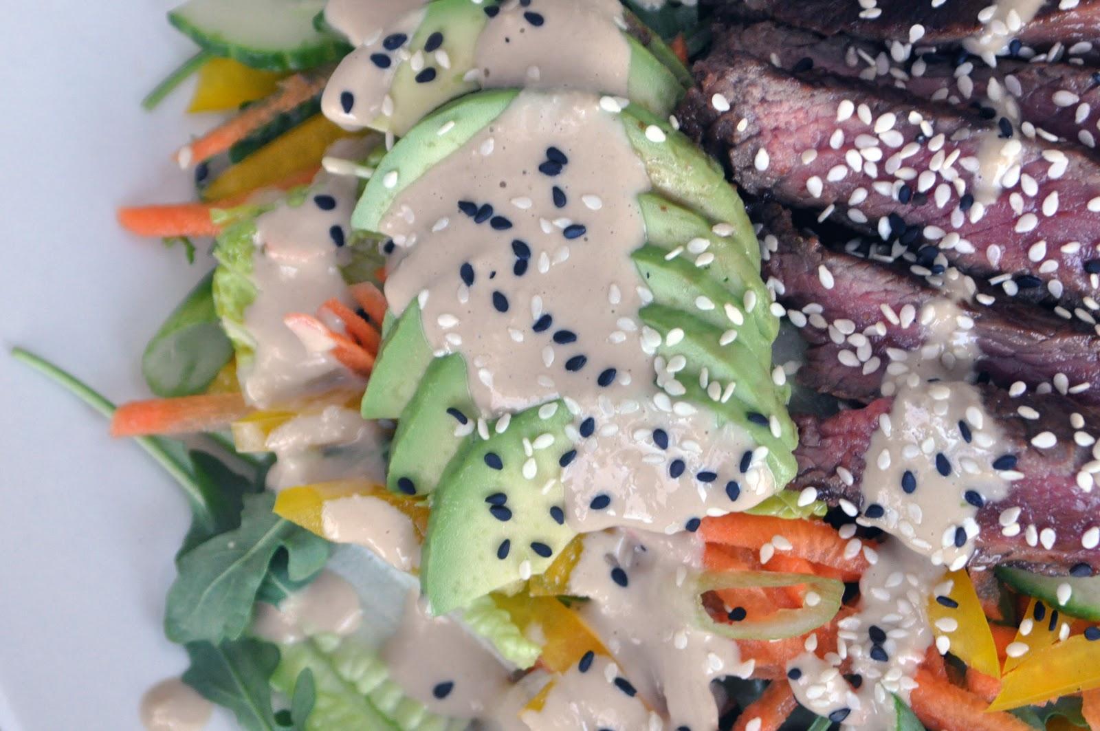 Sesame Ginger Steak Salad