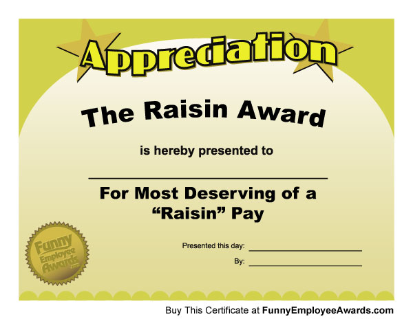 funny office awards. Funny Employee Office Awards