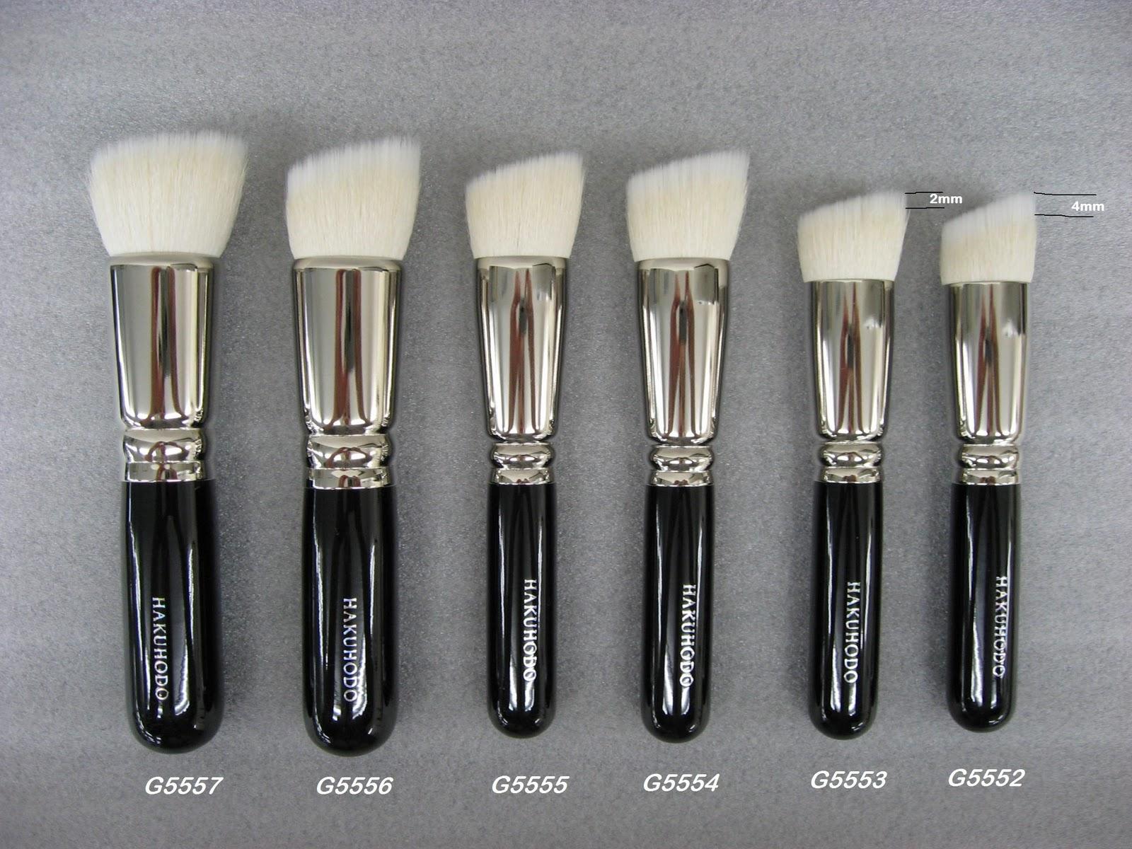 Are Hakuhodo Brushes Natural Hairs