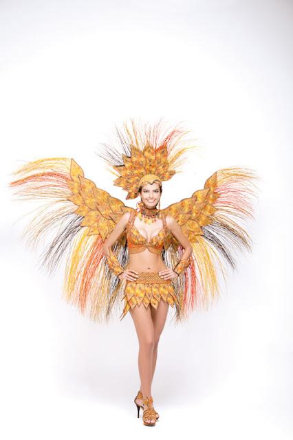 Srta. Colombia 2011-2012. Desfile en traje artesanal Magdalena: Melissa Varón Ballesteros