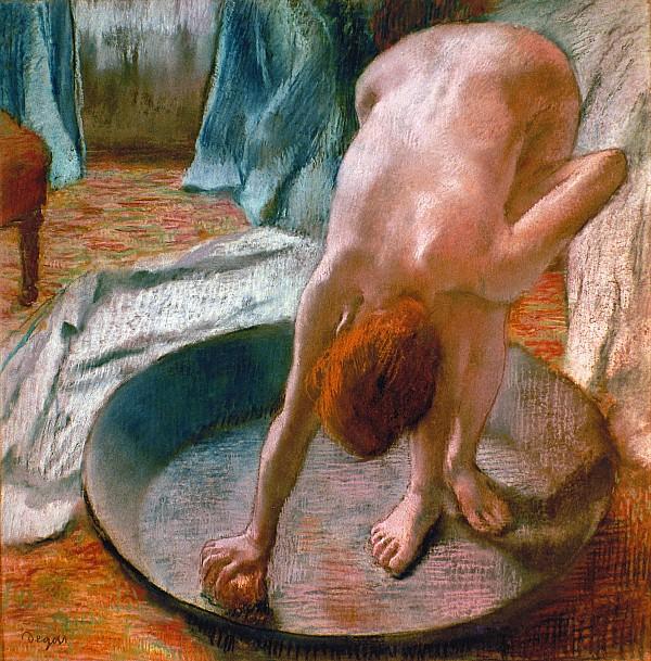 Sedef's Corner: Edgar Degas - The Tub