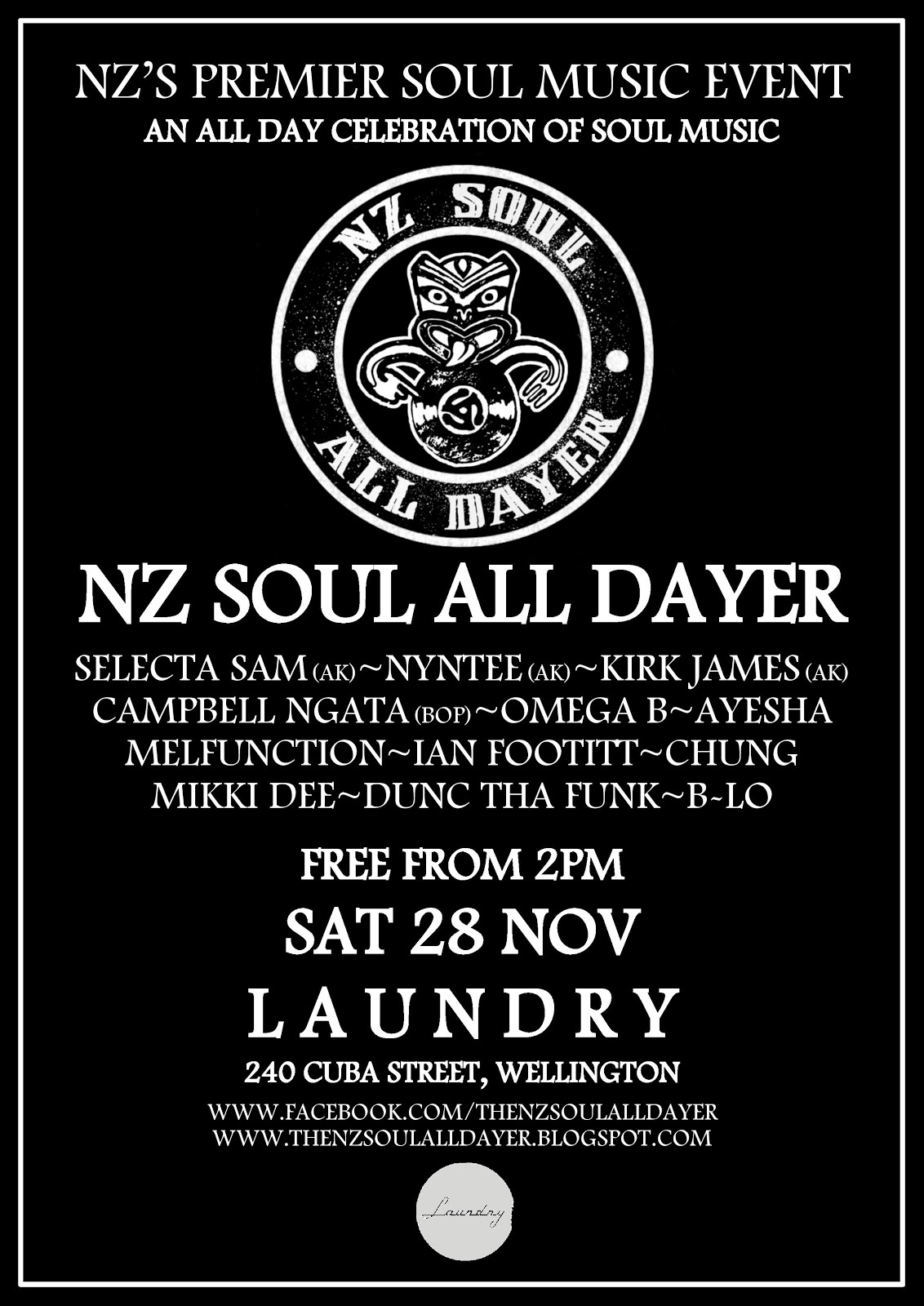 NZ Soul All Dayer Wellington 2015