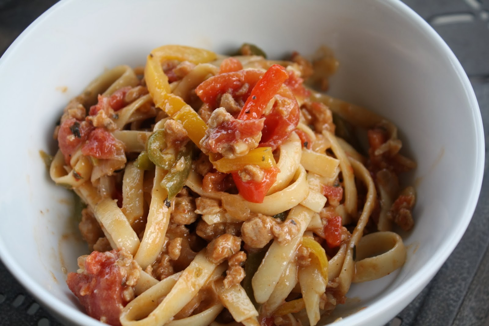 Jourdan Leigh In The Kitchen Italian Drunken Noodles