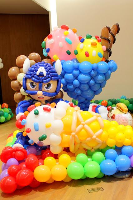 Bellavita卡通樂園歷險記氣球展覽