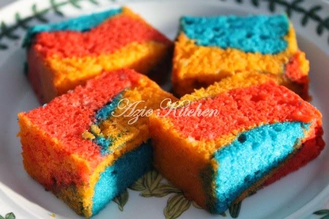 Kek Minyak Gebu Dan Sedap Azie Kitchen