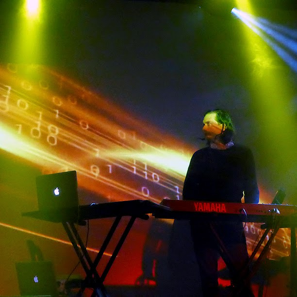 Robert Waters : Jerome Froese live @ Electronic Circus 2014 / photo S. Mazars