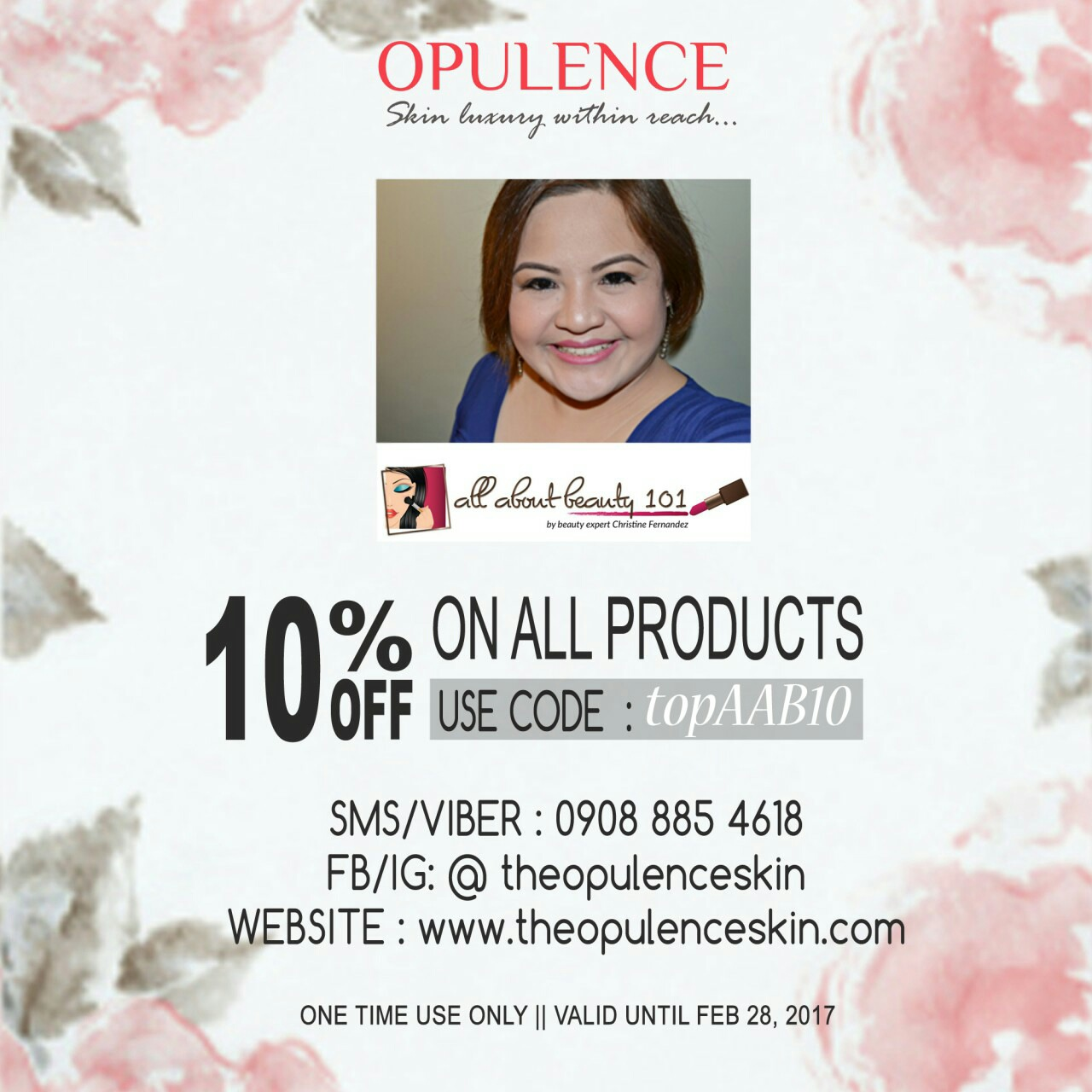 Opulence Discount Code