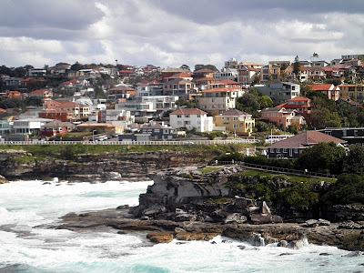 Walking towards Bronte Beach in the Eastern Suburbs