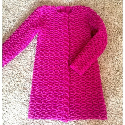 Knitting Patterns For Winter Jackets : Free Crochet Patterns For 3 Winter Coats - Easy Crochet Winter Coat Ideeas ...
