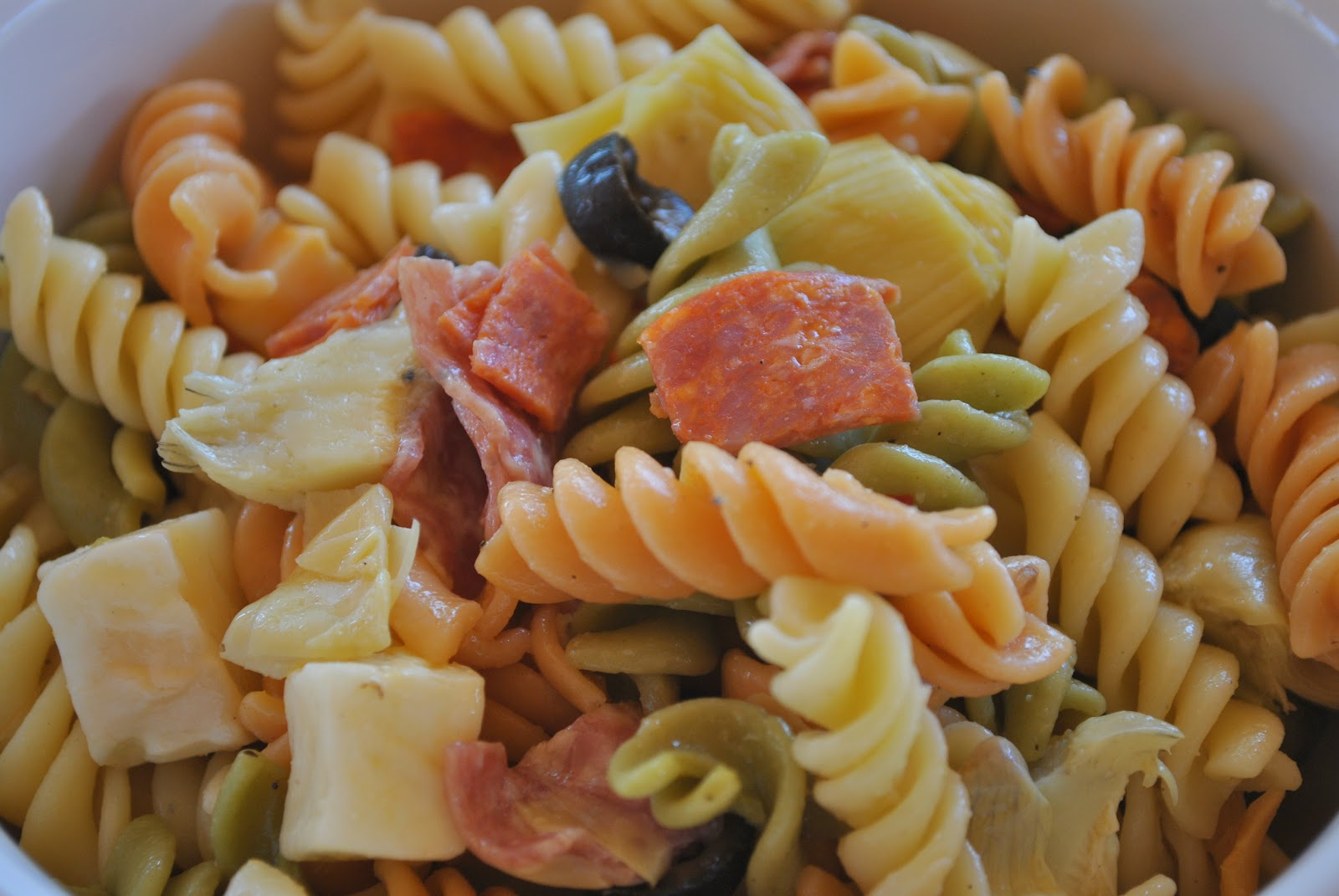 my kaotic kitchen: easy italian pasta salad..