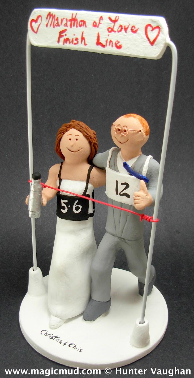 Custom Wedding Cake Toppers Wedding Cake Topper For Joggers