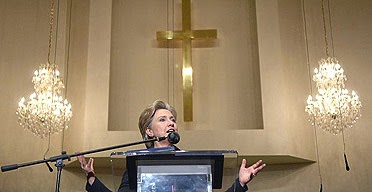 Hillary Clinton says the Bible is her Biggest Influence. Really?