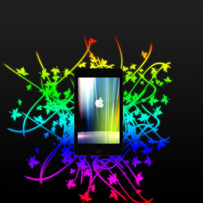 iPod Touch Rainbow Wallpapers [HQ/HD]