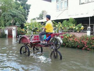 Motor penerjang banjir