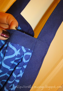 detail view of top-stitching