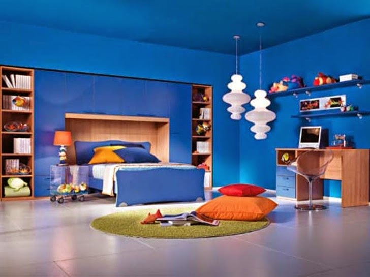 Cool Blue Bedroom Designs
