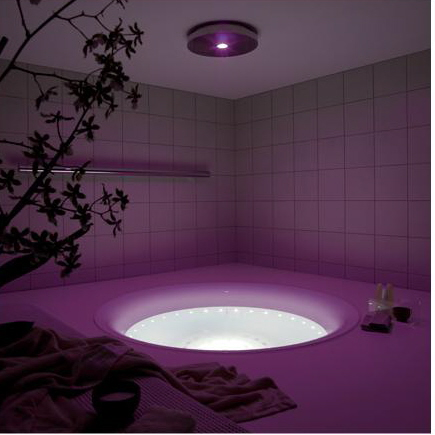 Bathroom Lighting Ideas on Best Bathroom Interior Designs Ideas  Round Bath Tube Led Lighting