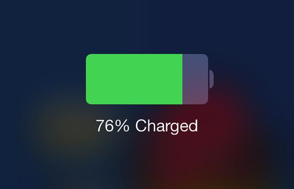 iPhone5s,5cでバッテリーを長持ちさせるiOS7の設定