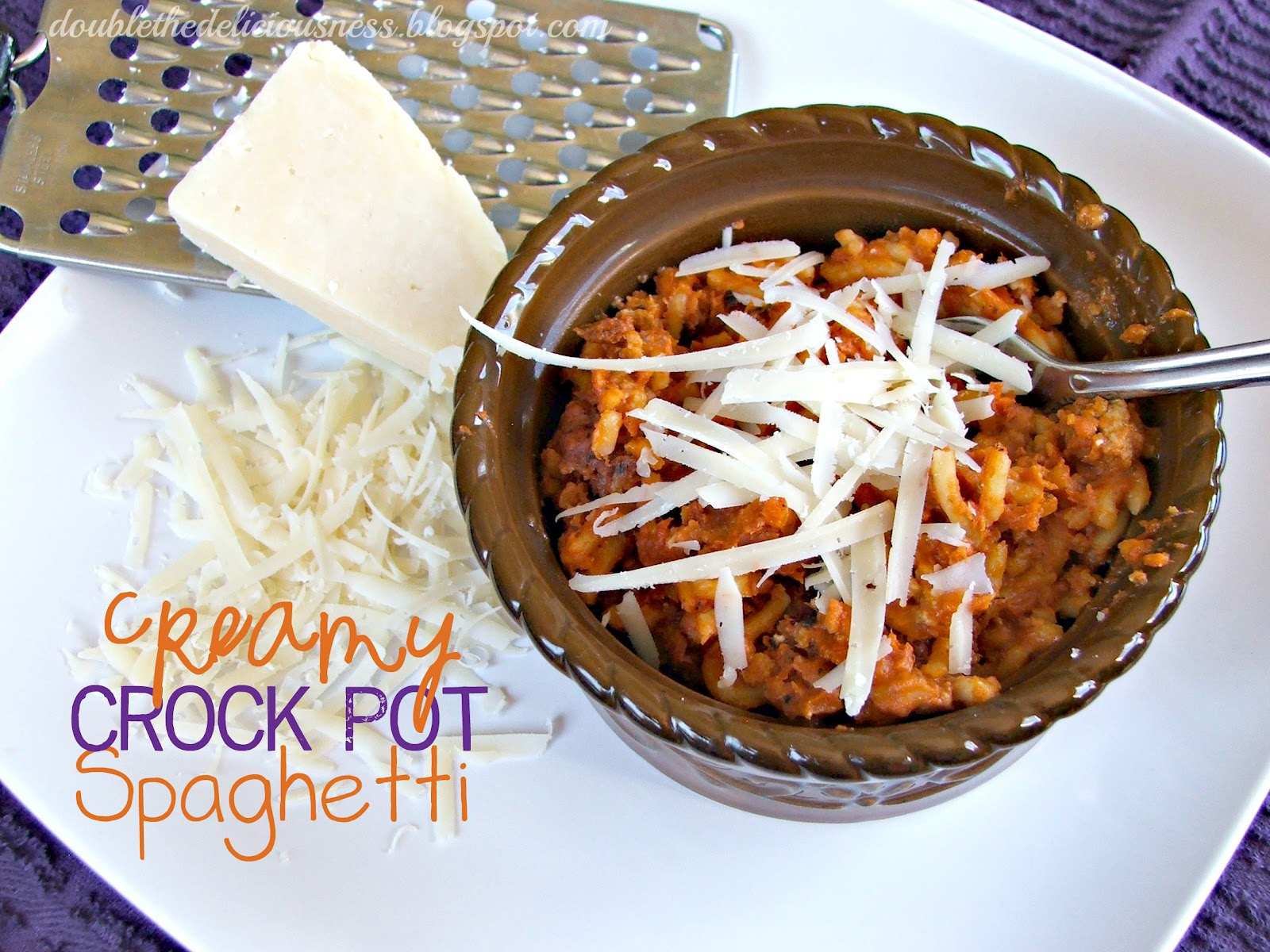 Double the Deliciousness: Creamy Crock Pot Spaghetti