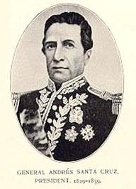 Imagen de Andrés de Santa Cruz
