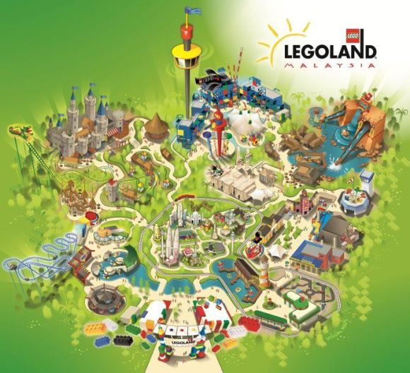 taman tema legoland theme park nusajaya iskandar johor malaysia
