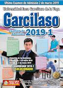 Ultimo Examen de la Universidad Garcilaso