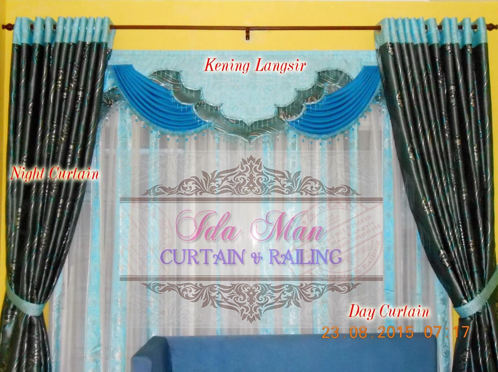 IdaMan Curtain n Railing: Tempah Langsir dan Railing : Johor Bahru