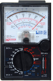 analog multimeter working