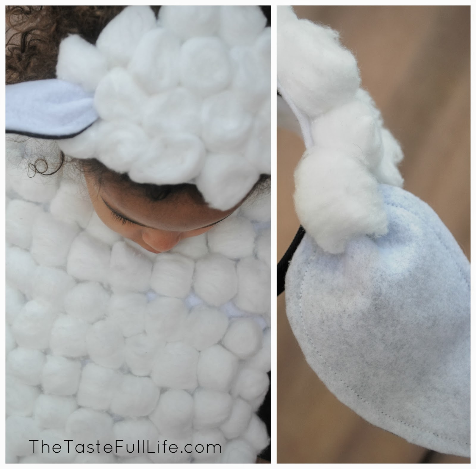 Diy sheep and cow costumes for my churchs christmas recital diy sheep and cow costumes for my churchs christmas recital pretty real solutioingenieria Image collections