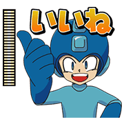 메가맨 애니메이션 스티커