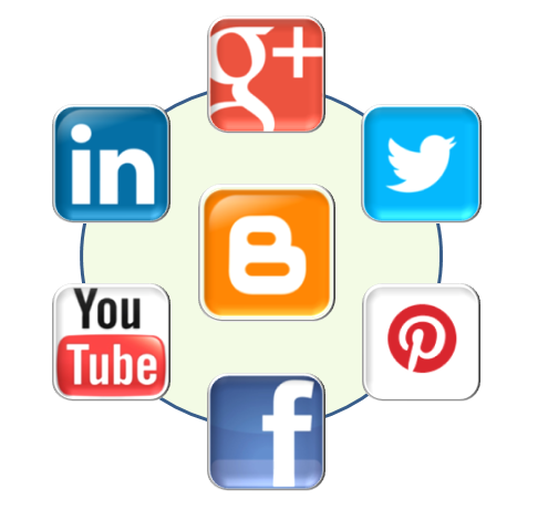 The words social network or social media site usually to refer to