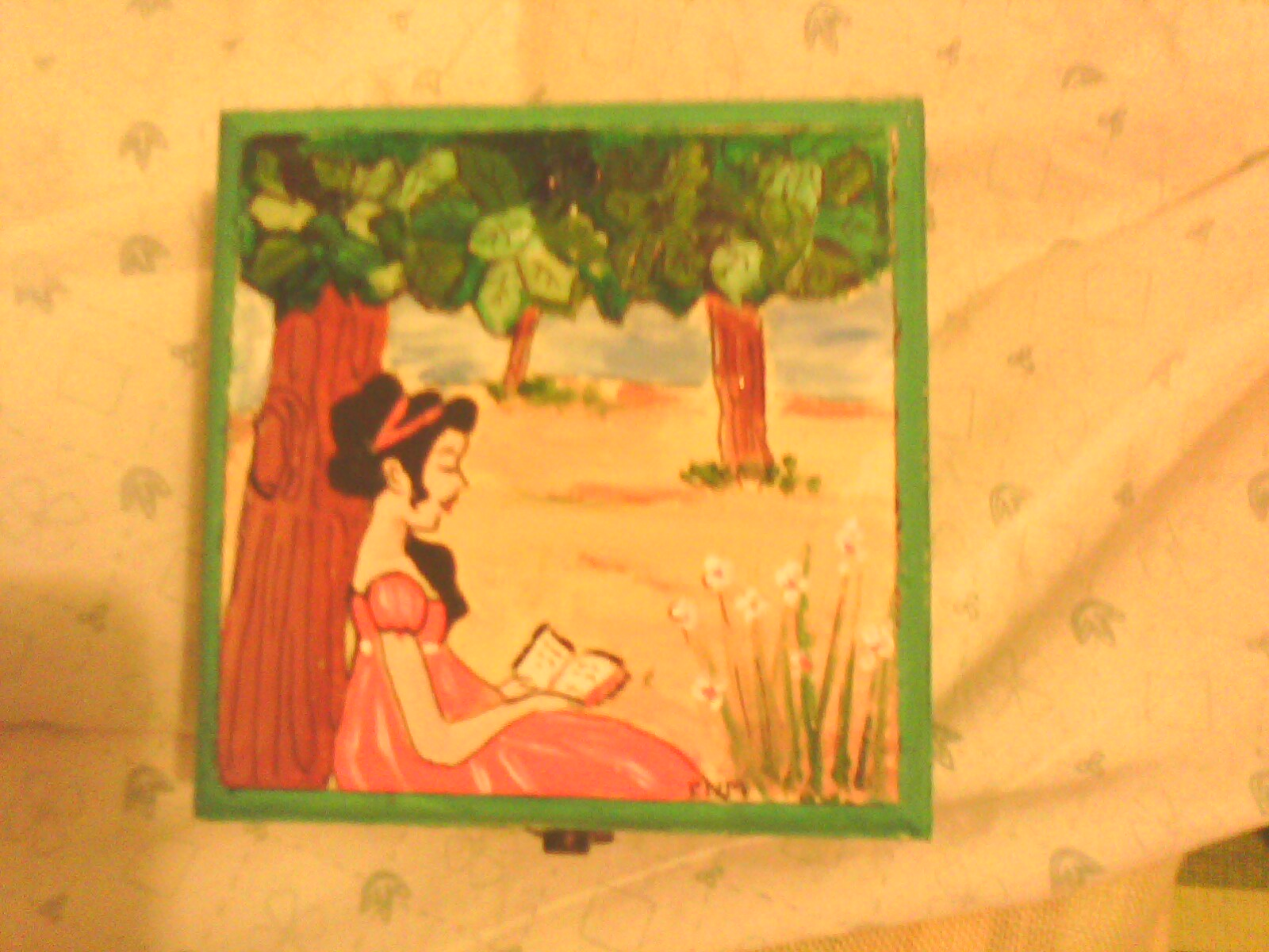 Manualidades gorrino gordo cajas de madera pintadas ii - Manualidades cajas de madera ...