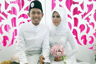 Gambar Nabil dan Nazirah Majlis Pernikahan