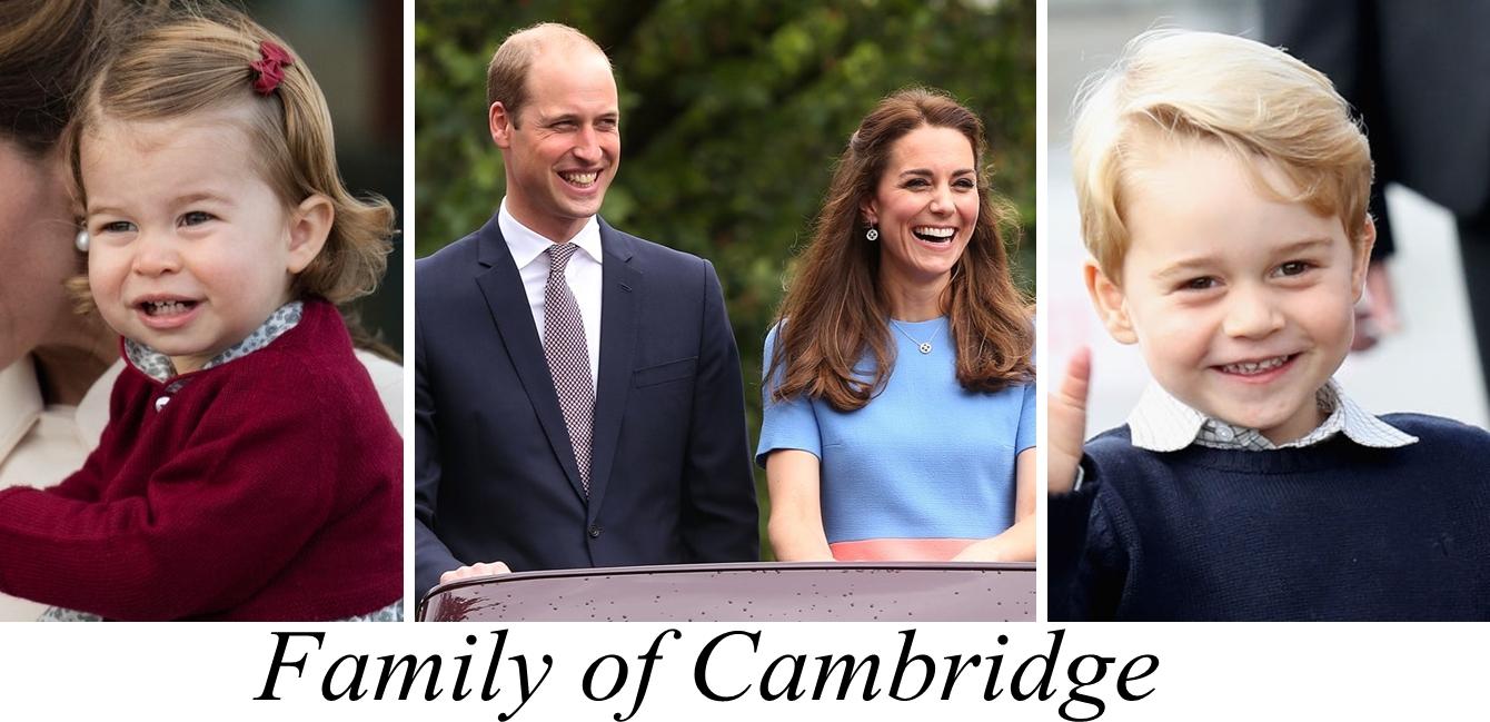 Family of Cambridge