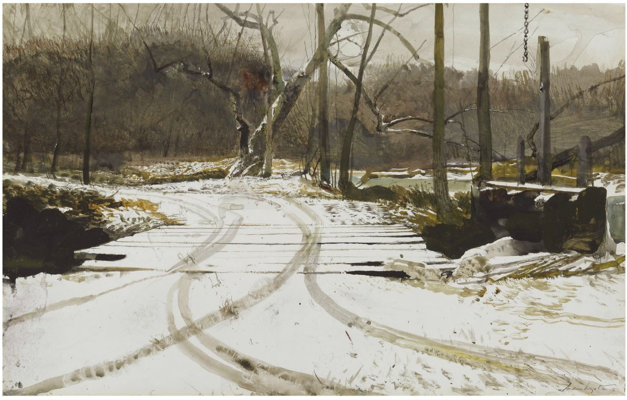 Andrew Wyeth's Black Paintings by Gwendolyn DuBois Shaw