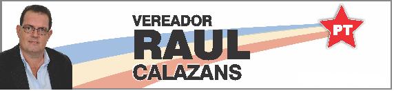 Vereador Raul Calazans