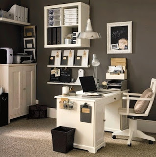 small home office decorating ideas sample