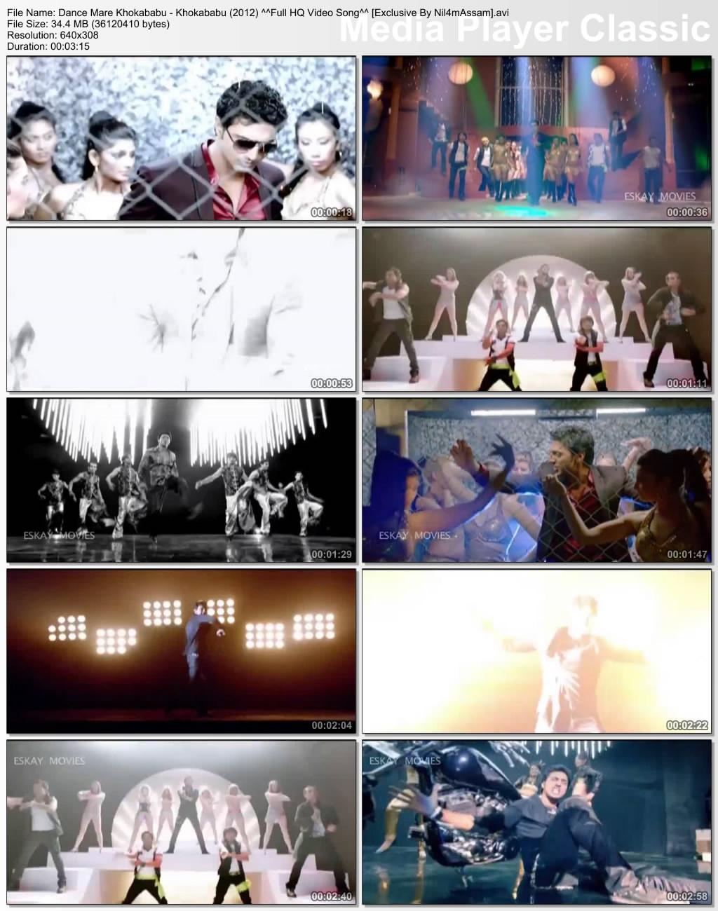 Dance Mare Khokababu - Khokababu 2012 Movie HQ Video Download