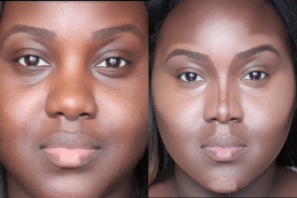 Contour your nose like a PRO! For chubbier, rounder noses ...