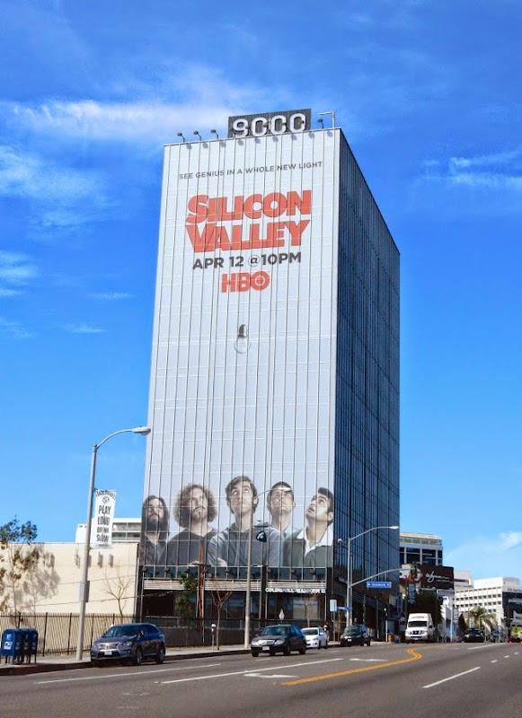 Giant Silicon Valley season 2 billboard