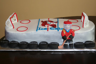 Ice Cats Cake