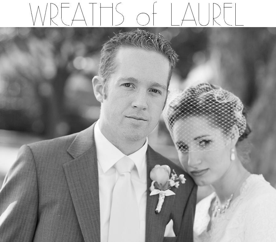 wreaths of laurel