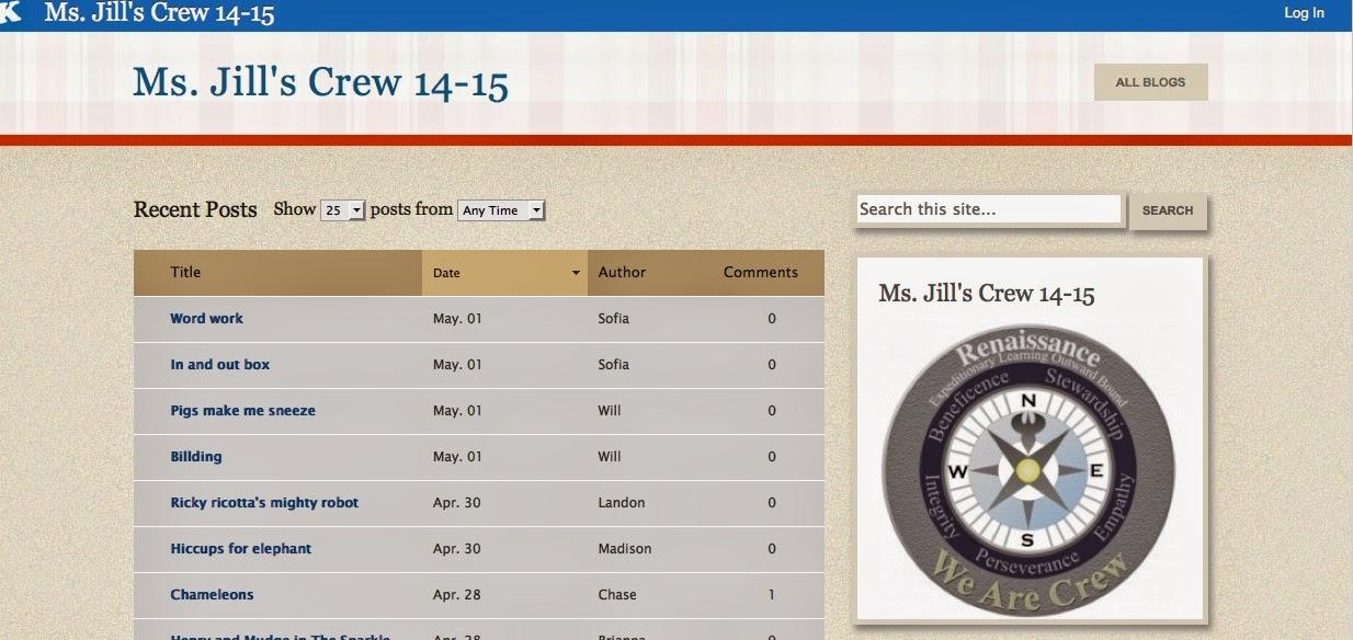 http://kidblog.org/MsJillsCrew14-15/
